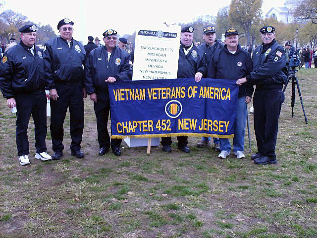 25th Anniversary of the Dedication of the Vietnam Veterans Memorial in Washington DC on Saturday 10 November 2007