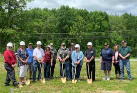 Groundbreaking Ceremony for the New Administration Building on Friday May 24, 2019 at the Northern New Jersey Veterans Memorial Cemetery